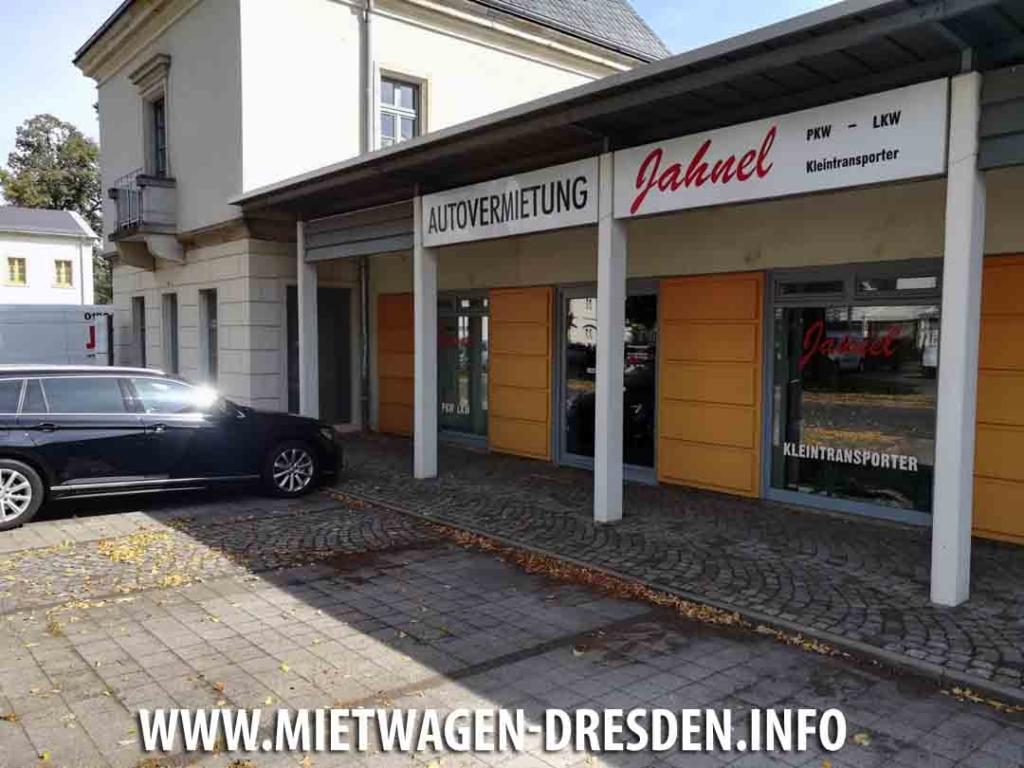 Jahnel Autovermietung Dresden Nord