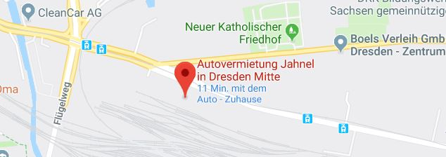 Autovermietung Jahnel Dresden Mitte