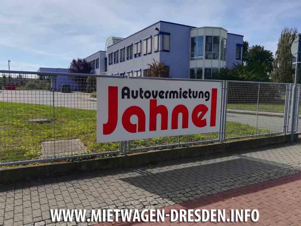 Jahnel Autovermietung Dresden Mitte Hamburger Str. 37, 01067 Dresden