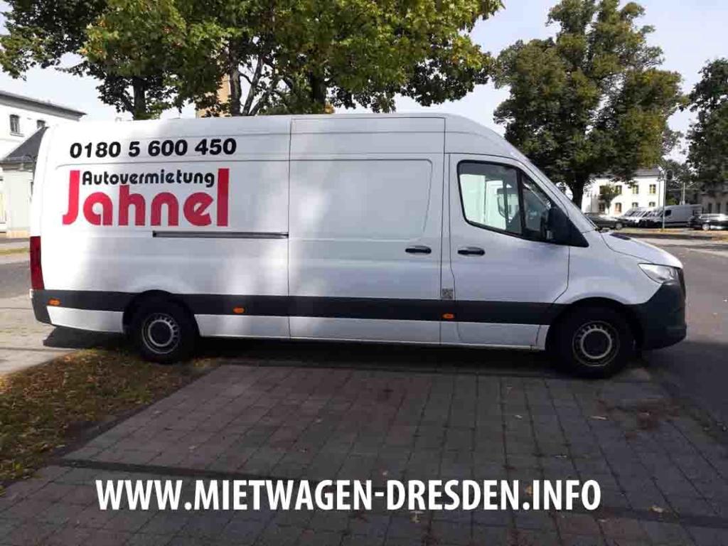 Mercedes Benz Sprinter in Dresden mieten