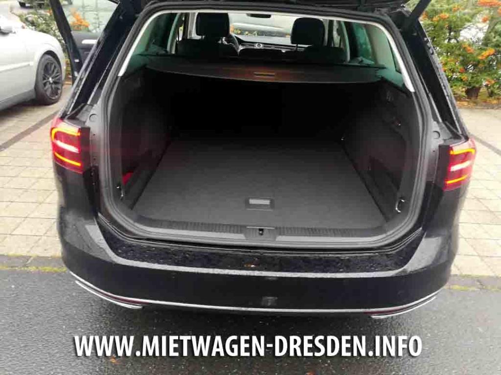 Kofferraum VW Passat