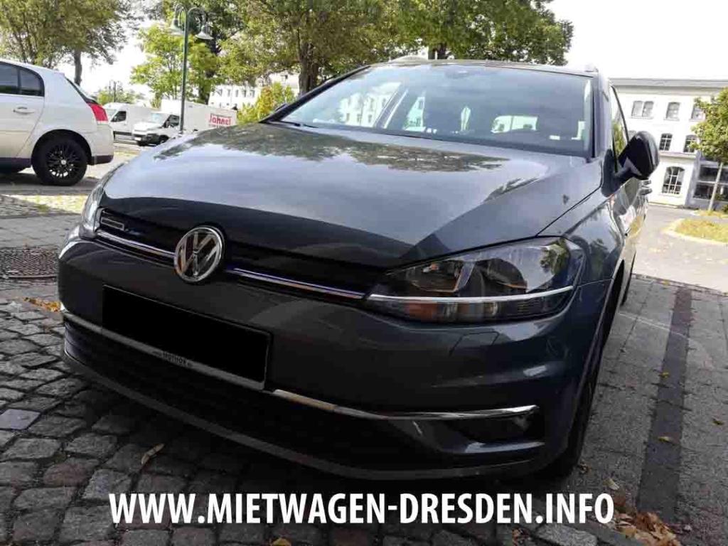 VW Golf in Dresden mieten