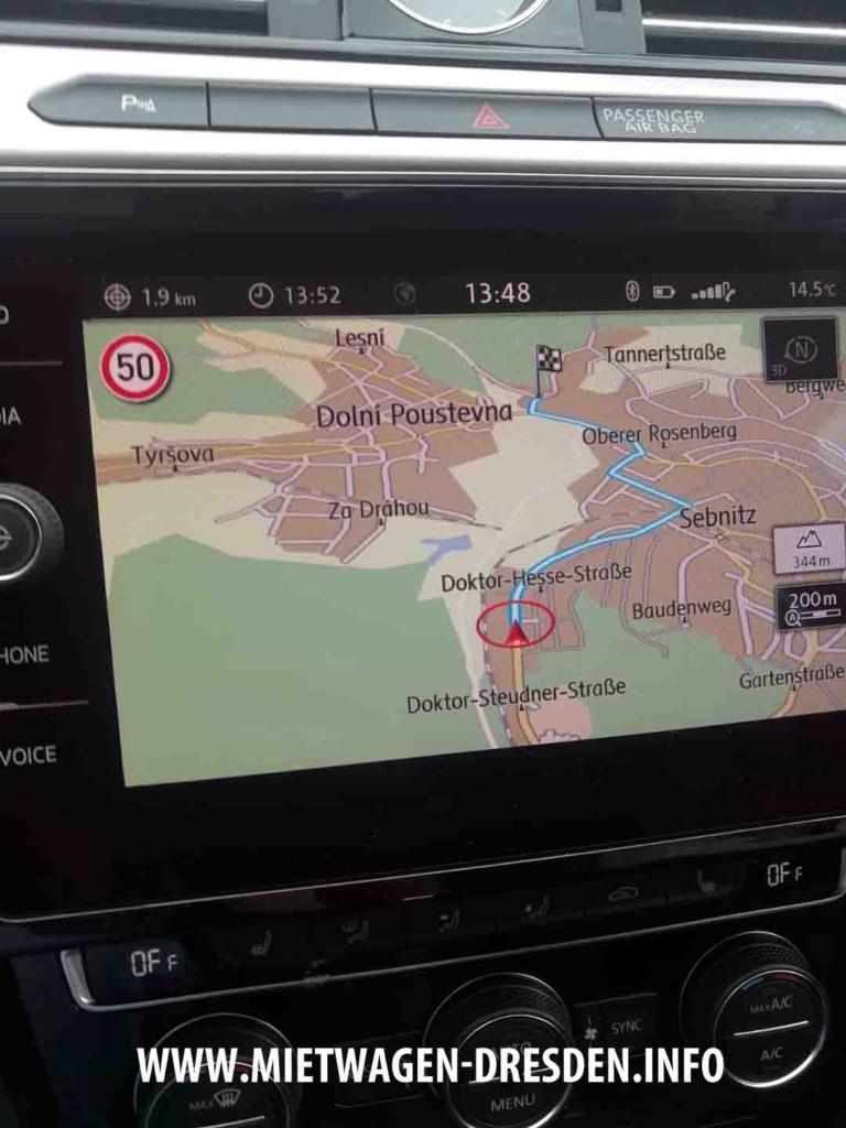 VW Passat Navigationssystem