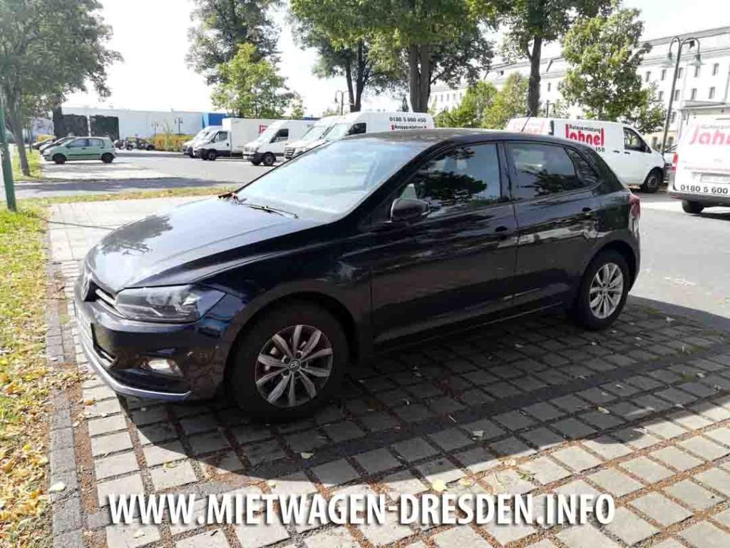 VW Polo in Dresden mieten